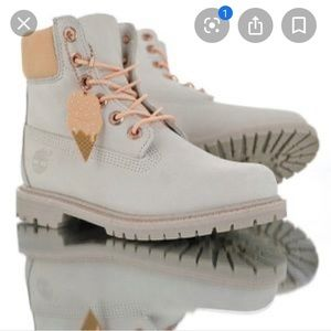 Timberland vanilla icecream limited edition boots